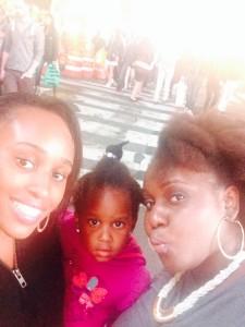 Leilah, Hanifa and I