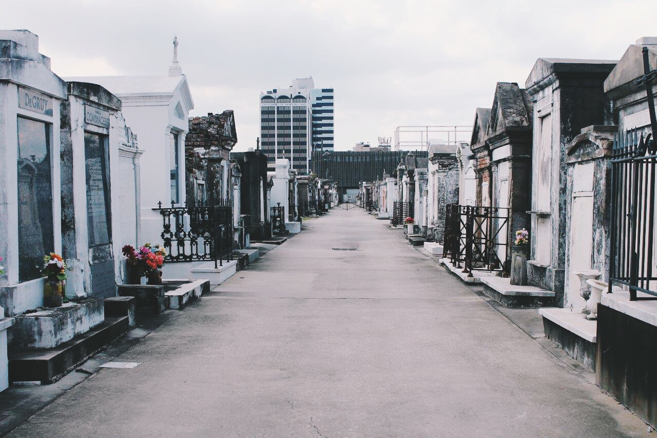 st. louis cemetery. new orleans
