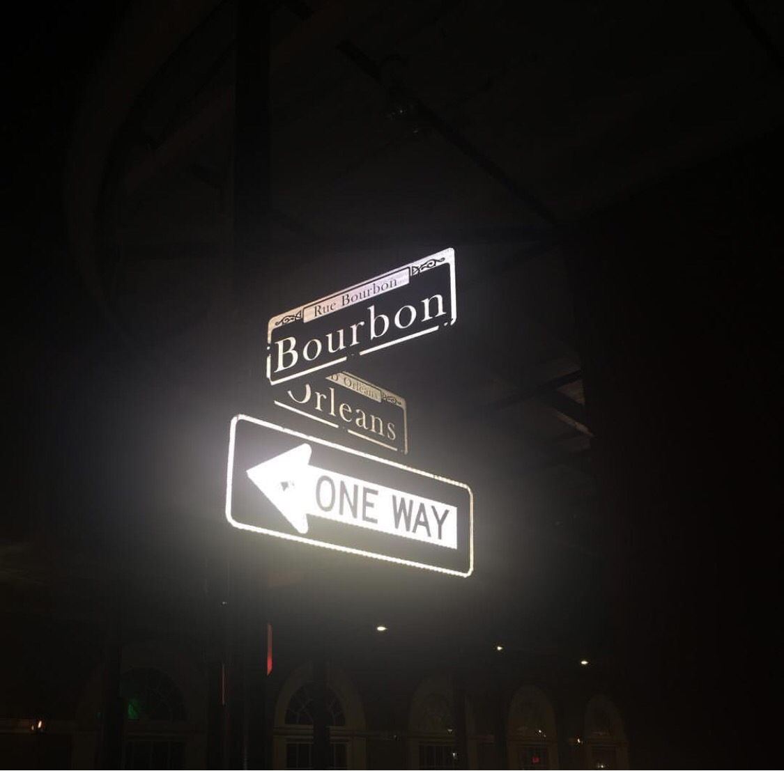 Bourbon Street. travel blogger