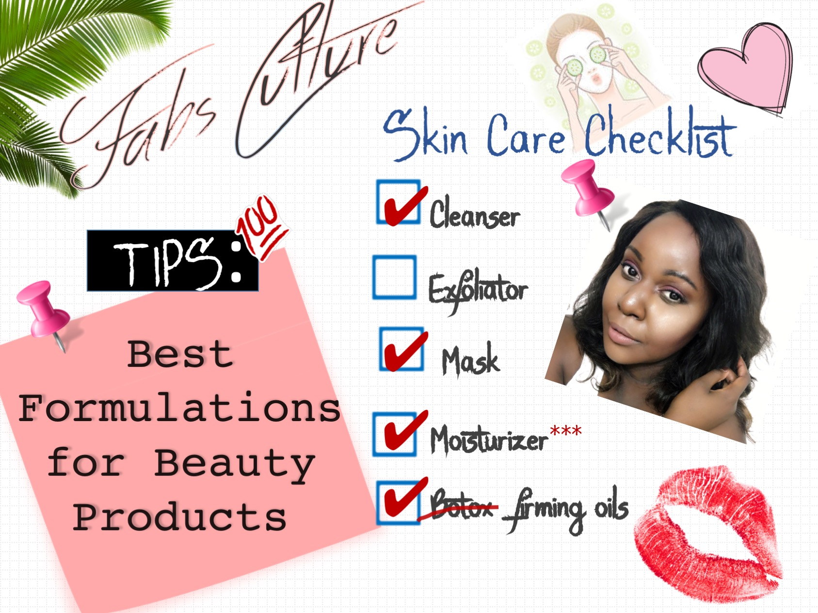 best formulations for beauty products, skin care for oily clear skin, affordable cutting costs on beauty products