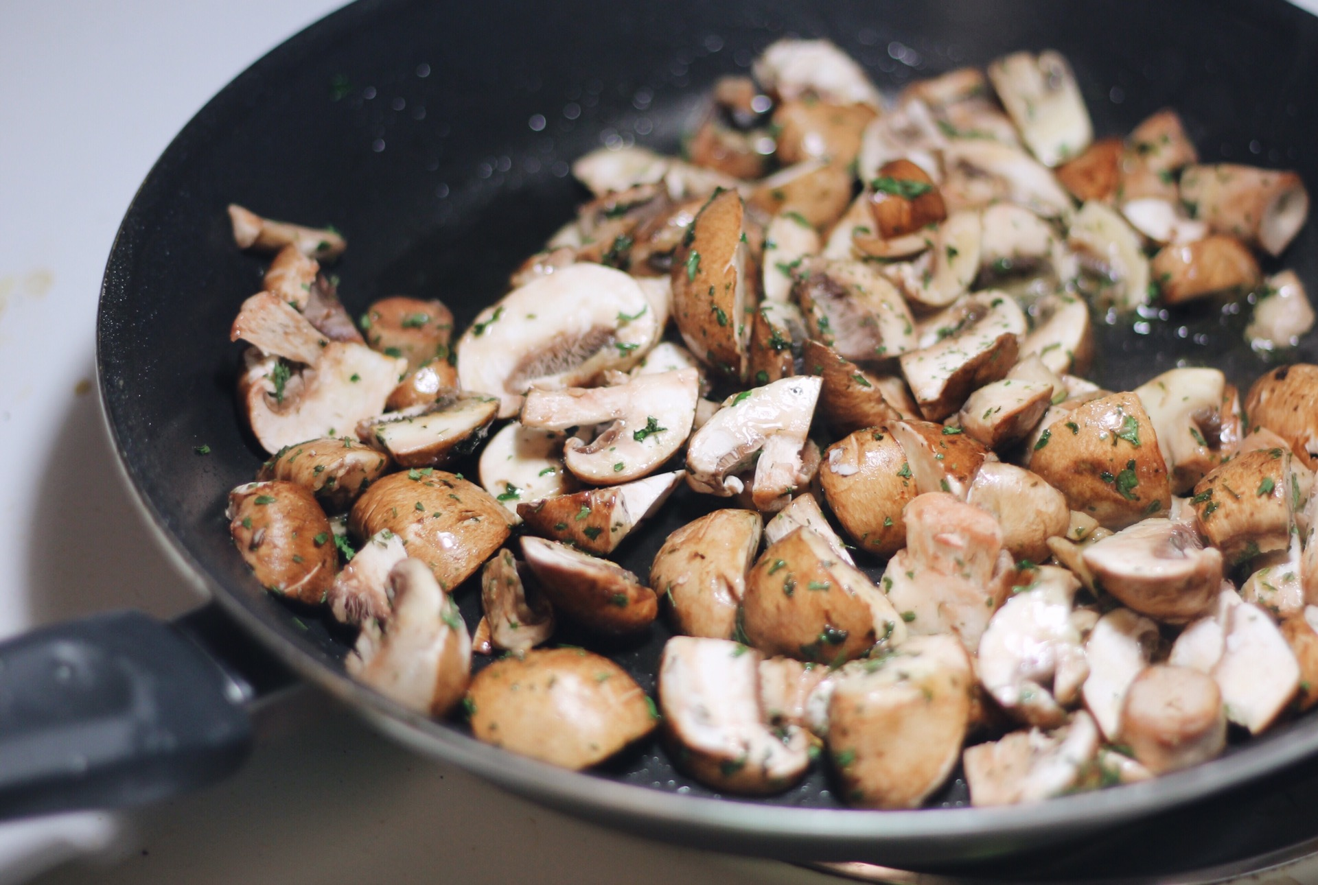 Easy recipe Creamy Parmesan Garlic Mushroom Chicken
