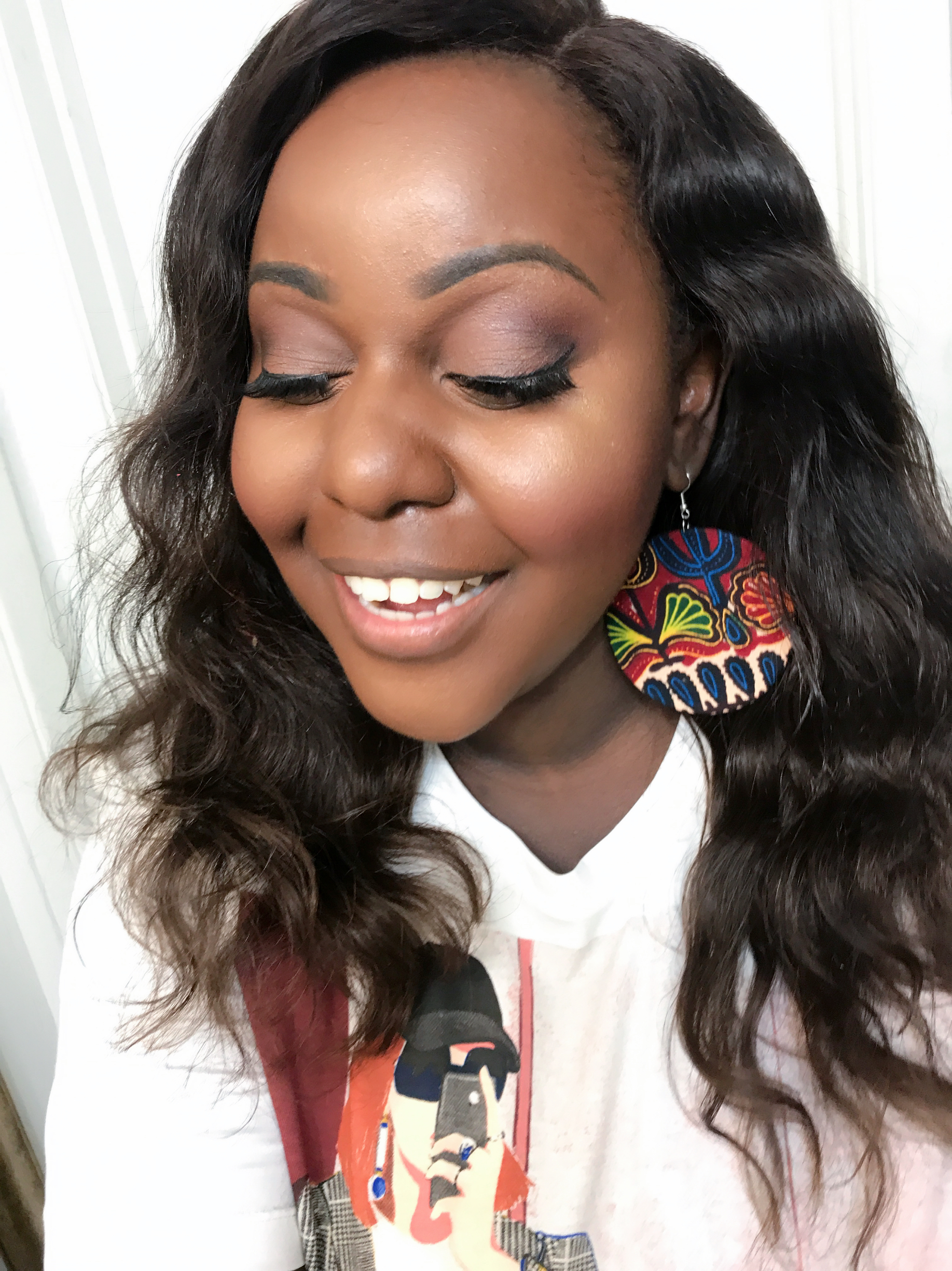 Fenty Beauty founation trophy wife review for dark skin