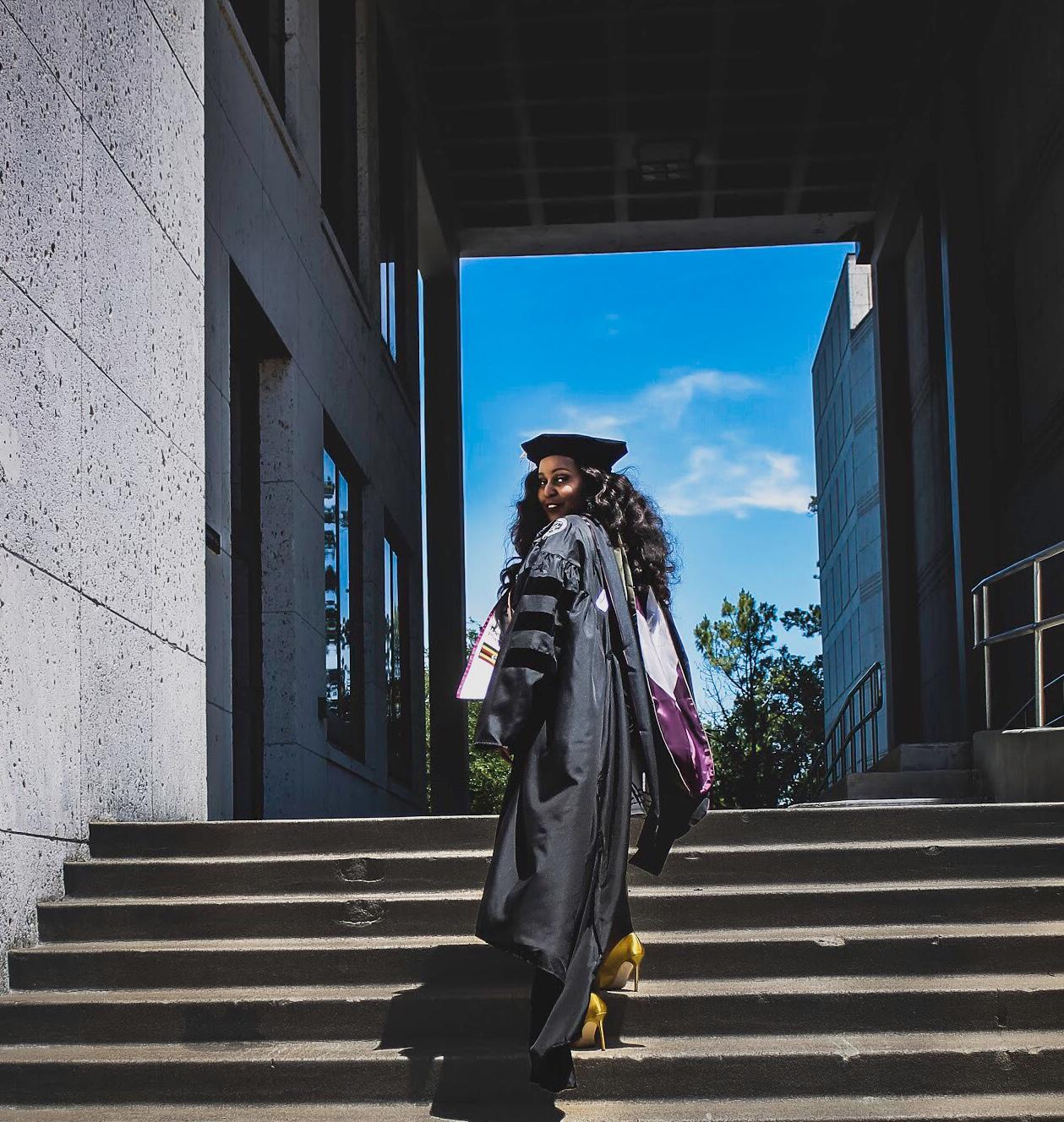 Tycoon Yusuf Matovu Youma Mahbuba Matovu Buba fabulous graduates PhD Pharmacy