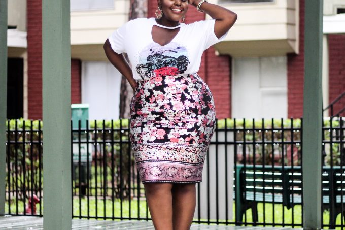 preppy plus size fashion blogs 2017, beautiful curvy girls, how to fill the eye brow of a dark skin, beautiful plus size dark skin girls, plus size black bloggers, clothes for curvy girls, curvy girl fashion clothing, plus blog, plus size fashion tips, plus size women blog, curvy women fashion, plus blog, curvy girl fashion blog, style plus curves, plus size fashion instagram, curvy girl blog, bbw blog, plus size street fashion, plus size beauty blog, plus size fashion ideas, curvy girl summer outfits, plus size fashion magazine, plus fashion bloggers, zara, Rosie the riveter shirt; Emilia embroidered beaded clutch; Vince Camuto heels; Lula shell drop earrings; Aldo Galigossi sunnies