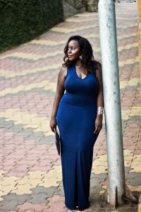Own the Night Strapless Maxi Dress LULUS, preppy plus size fashion blogs 2017, beautiful curvy girls, how to fill the eye brow of a dark skin, beautiful plus size dark skin girls, plus size black bloggers, clothes for curvy girls, curvy girl fashion clothing, plus blog, plus size fashion tips, plus size women blog, curvy women fashion, plus blog, curvy girl fashion blog, style plus curves, plus size fashion instagram, curvy girl blog, bbw blog, plus size street fashion, plus size beauty blog, plus size fashion ideas, curvy girl summer outfits, plus size fashion magazine, plus fashion bloggers, zara, Rosie the riveter shirt; Emilia embroidered beaded clutch; Vince Camuto heels; Lula shell drop earrings; Aldo Galigossi sunnies,
