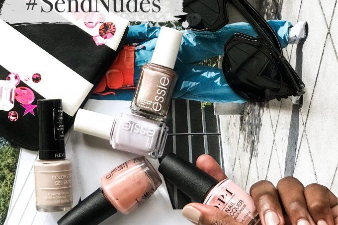 dark skin Nude Nail Polish Shades White, black people, spring trending, what to buy