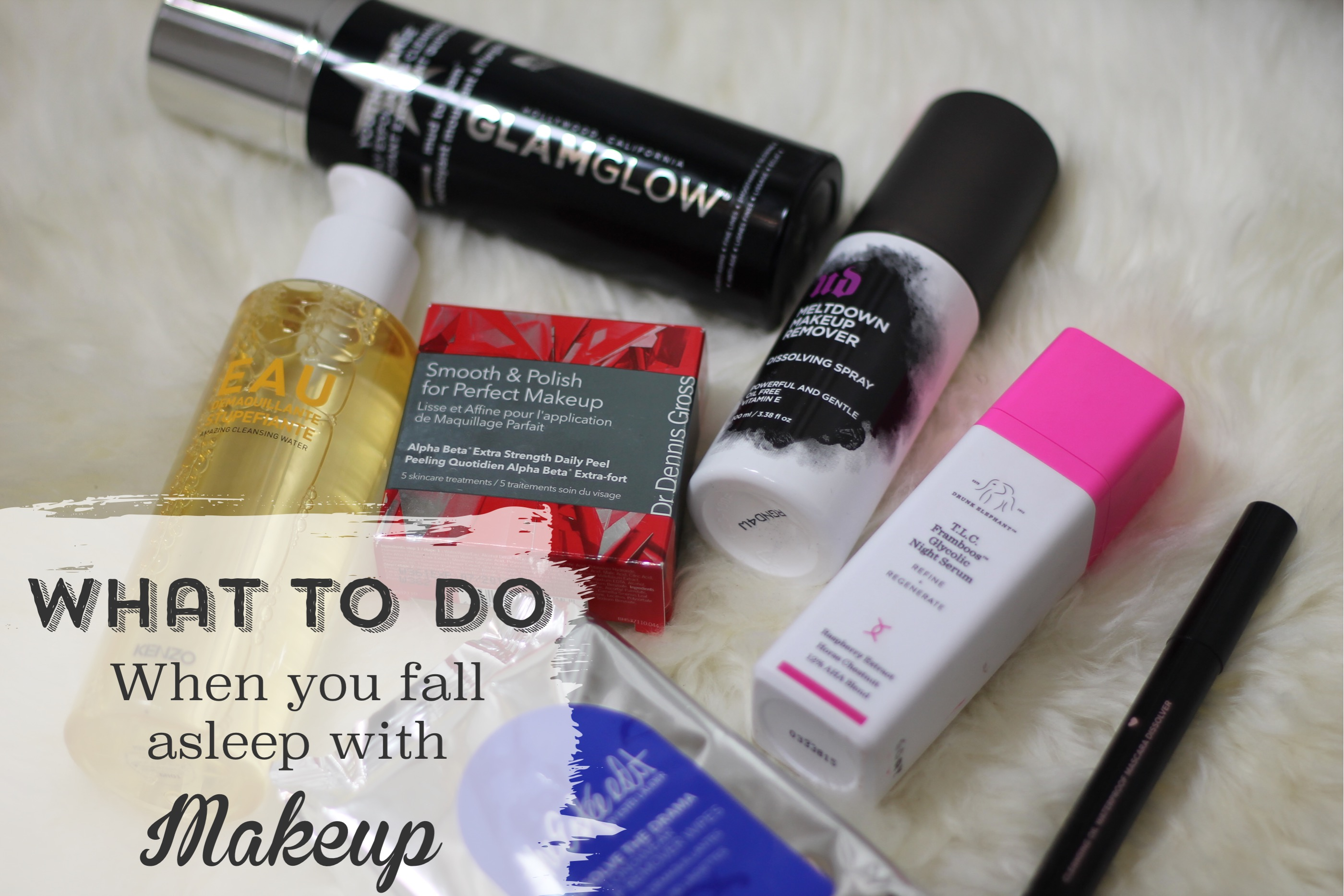 I FELL ASLEEP IN MY MAKEUP. NOW WHAT SHOULD I DO, THE BODY SHOP Strawberry Body Butter J.ONE Red Jelly Pack SMASHBOX Smashbox + Vlada Petal Metal Highlighter GIORGIO ARMANI BEAUTY Power Fabric Longwear High Cover Foundation SPF 25 HUDA BEAUTY Easy Bake Loose Baking & Setting Powder HUDA BEAUTY The Overachiever High Coverage Concealer FEELING BEAUTIFUL 4-in-1 Apple Cider Vinegar Foaming Clay Mask BIORÉ Baking Soda Cleansing Micellar Water dark skin beauty blogger, sephora vib rouge blogger beauty makeup skin care reviews, the best way how to take makeup off,